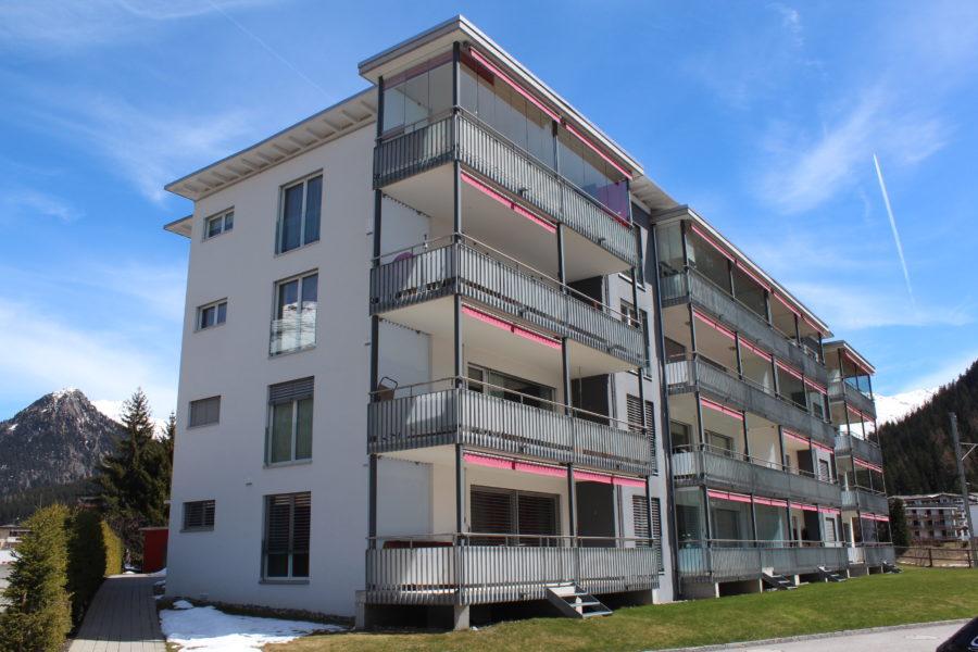 Aussenansicht Talstrasse 44 Davos Platz Hertipark