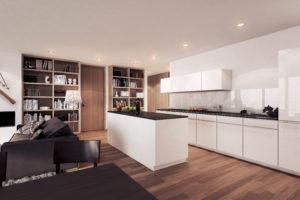 Komfortable Zweitwohnung Davos mit Hotelservice by Hotel InterContinental | SPER Apartments | Poggenpohl Küche