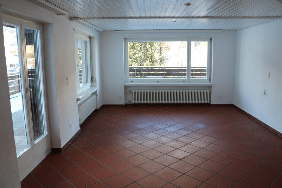 Wohnung mit grosser Terrasse an zentraler und ruhiger Lage